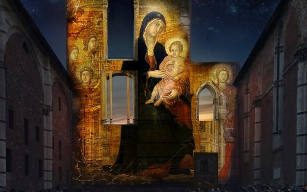 La-Divina-Bellezza-Discovering-Siena-video-mapping-facciata-duomo