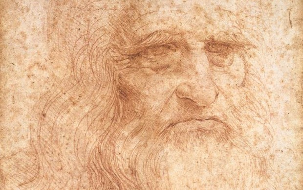 Leonardo da Vinci Autoritratto 1515