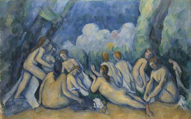 Paul_Cézanne - Le grandi bagnanti (Les Grandes Baigneuses) National Gallery Londra