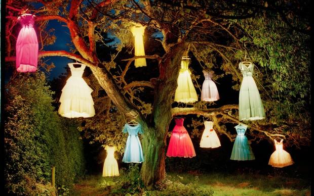 Tim Walker, The Dress Lamp Tree, 2004