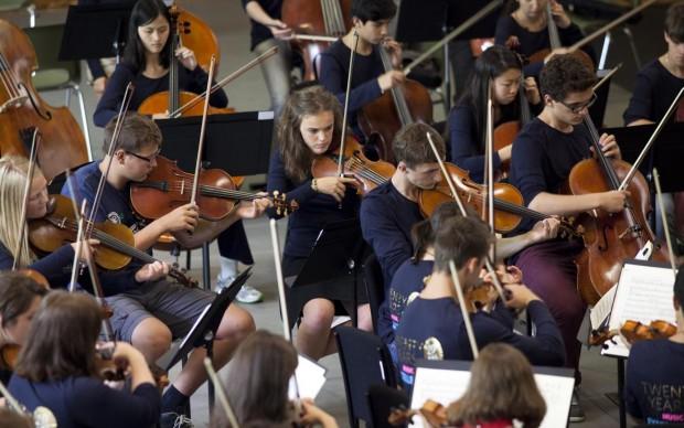 VFMCO rehearsal Festival di Verbier