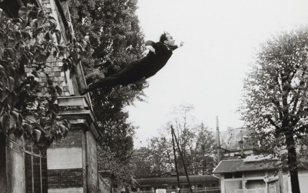 Harry Shunk, Yves Klein in Leap into the Void (Saut dans le vide), 1960