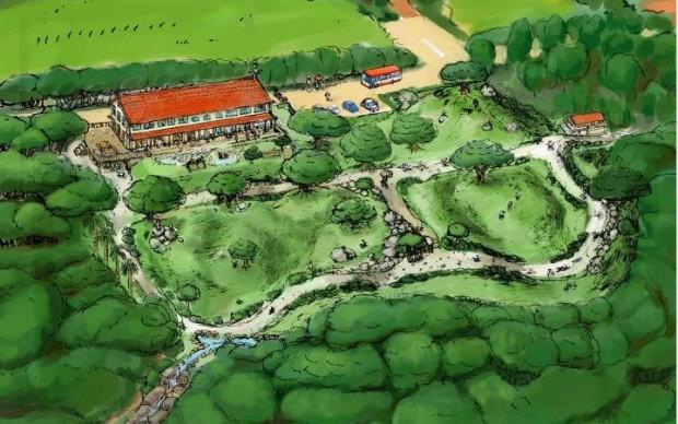 hayao miyazaki parco per bambini di kumekima - okinawa