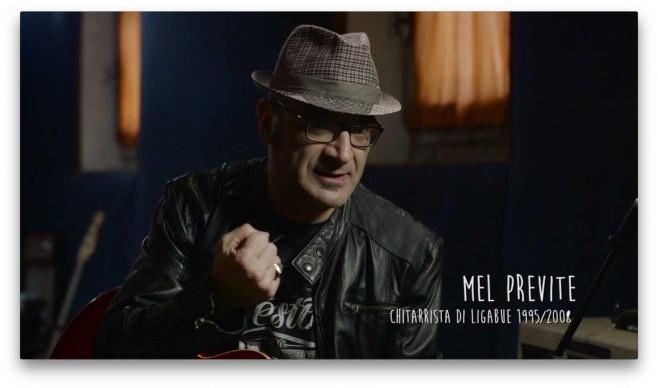 Il chitarrista Mel Previte