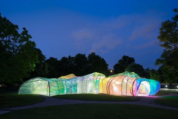 Serpentine Pavilion 2015, progetto di selgascano. Foto © Iwan Baan