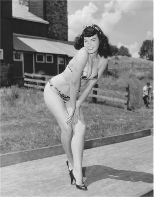 © Arnold Kovacs, Bettie Page, 1954 ca, Courtesy of Micheal Fornitz Collection