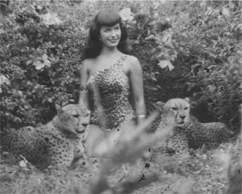 © Bunny Yeager, Bettie Page, 1954, Courtesy of Michael Fornitz Collection