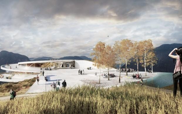 Funivia di Bolzano, progetto di Snøhetta