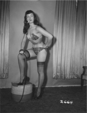 © Irving & Paula Klaw, Bettie Page, 1953 ca, Courtesy of Michael Fornitz Collection