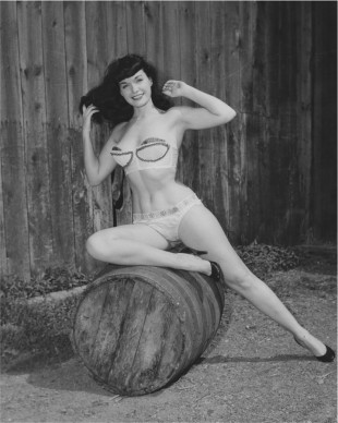 ©Arnold Kovacs, Bettie Page, 1954 ca, Courtesy of Michael Fornitz Collection