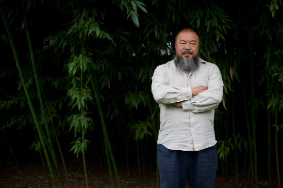Ai Weiwei (Photo by Ed Jones/AFP/GettyImages)