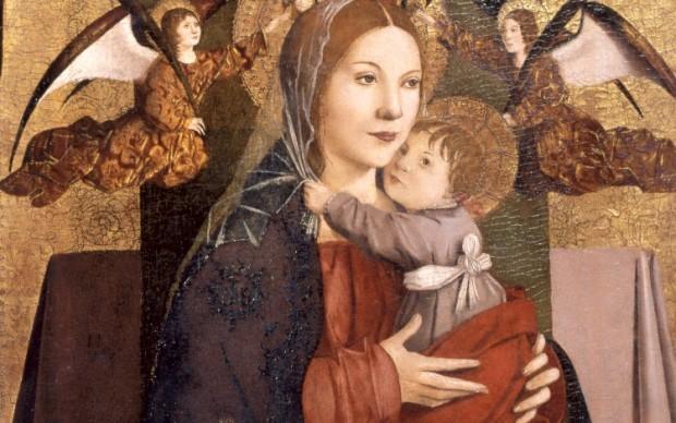 Antonello da Messina - Vergine col Bambino museo bagatti valsecchi milano