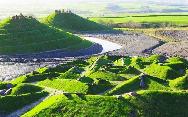 Crawick Multiverse charles jenks scozia land art