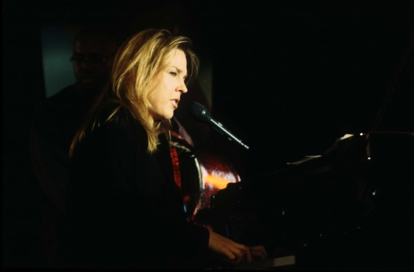 Diana Krall in una performance al Calle 54 Club di Madrid (Photo by Quim Llenas/Cover/Getty Images)