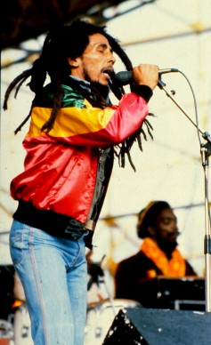 Bob Marley live a Madrid nel 1981  (Photo by Gianni Ferrari/Cover/Getty Images)