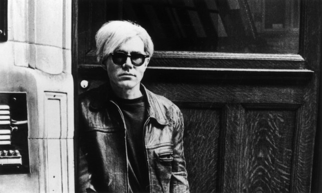 Andy Warhol  (Photo by Express Newspapers/Getty Images)