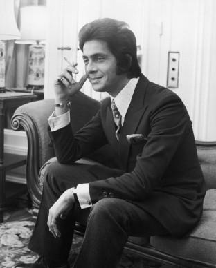 Valentino a Londra nel 1968