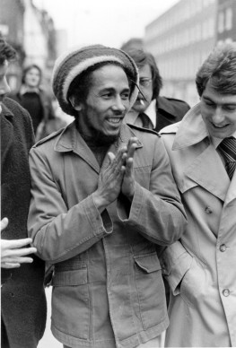 Bob Marley a Londra nel 1977 (Photo by Maurice Hibberd/Evening Standard/Getty Images)