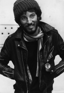 Bruce Springsteen nel 1975 (Photo by Monty Fresco/Evening Standard/Getty Images)