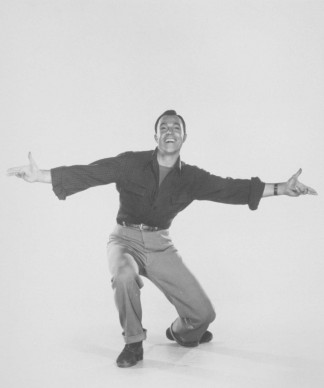 Gene Kelly nel 1948 (Photo by Hulton Archive/Getty Images)