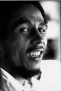 Bob Marley a Londra nel 1977 (Photo by Colin Davey/Evening Standard/Getty Images)