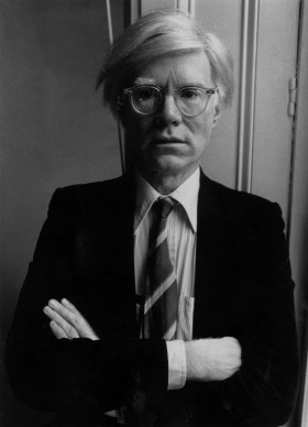 Andy Warhol negli anni Ottanta (Photo by John Minihan/Evening Standard/Getty Images)