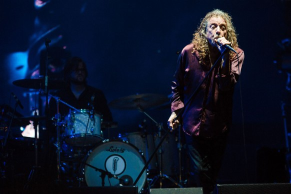 Robert Plant al Lollapalooza Brazil 2015 (Photo by Mauricio Santana/Getty Images)