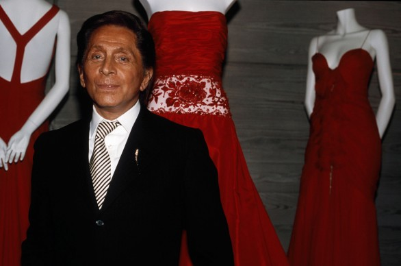 Valentino nel 2004 (Photo by Quim Llenas/Cover/Getty Images)