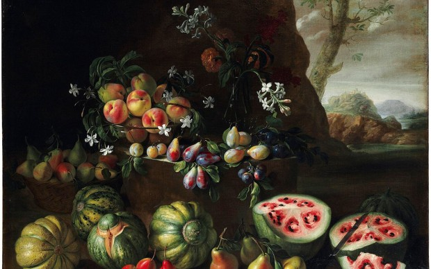 Giovanni Stanchi natura morta angurie