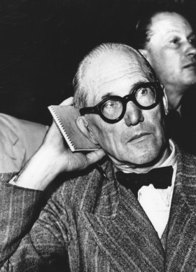 Le Corbusier (Photo by Keystone/Getty Images)