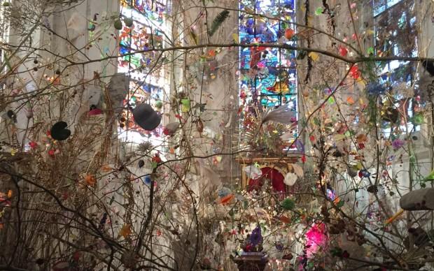Les pierres et le printemps - Installazione di Gerda Steiner e Jörg Lenzlinger – Castello