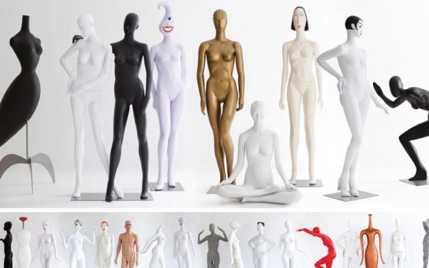 Manichini Ralph Pucci designer moda