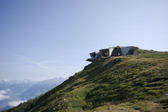 Zaha Hadid, Messner Mountain Museum (Museo della montagna Messner), Plan de Corones 2015