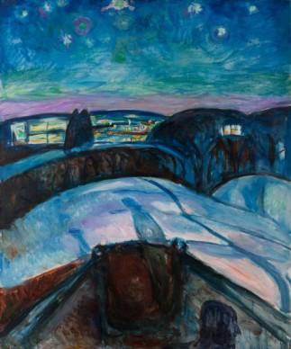 Edvard Munch (1863-1994), Starry Night, 1922-1924, Munch Museum, Oslo