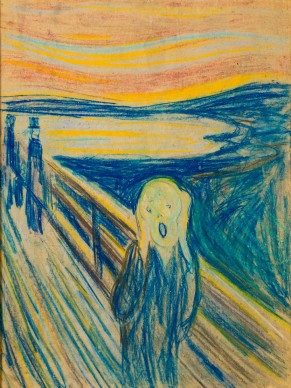 Edvard Munch (1863-1994), The Scream, 1893, 1910  © The Munch Museum/Munch-Ellingsen-Gruppen/BONO 2013