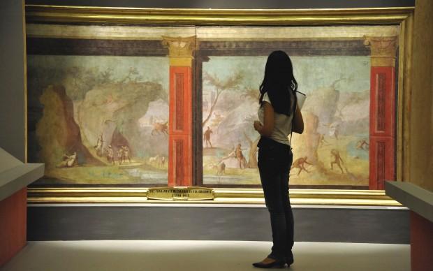 Palazzo Reale Milano mostra Mito Natura Pompei