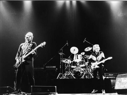 I Police in concerto all'inizio degli anni Ottanta (Photo by A & M Records/Courtesy of Getty Images)