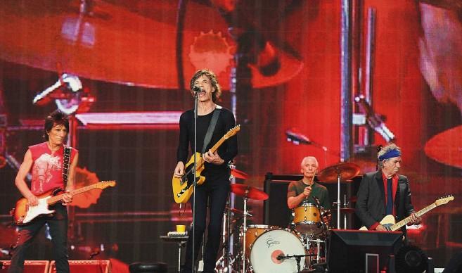 Rolling Stones in concerto all'Hyde Park di Londra nel 2013