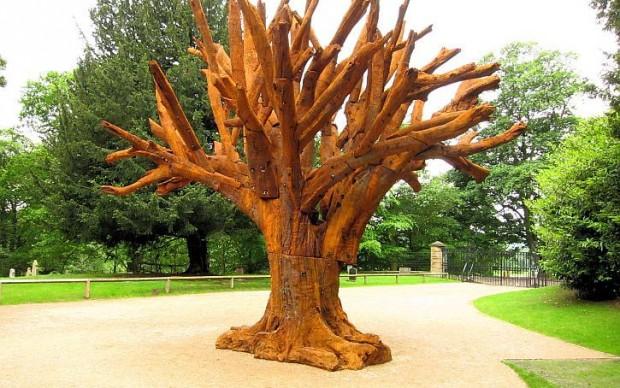ai weiwei iron-tree, 2013, Yorkshire Sculpture Park