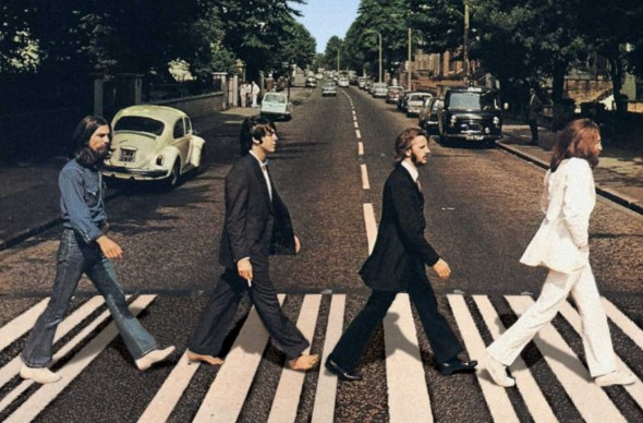 Beatles, Abbey Road, cover dell'album