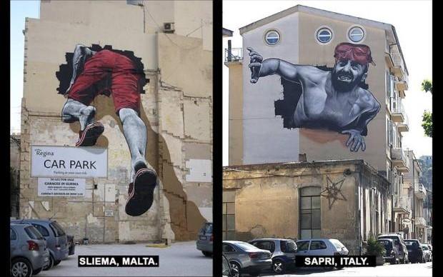 mto murales malta italia