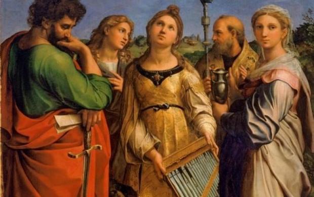 raffaello estati di santa cecilia bologna