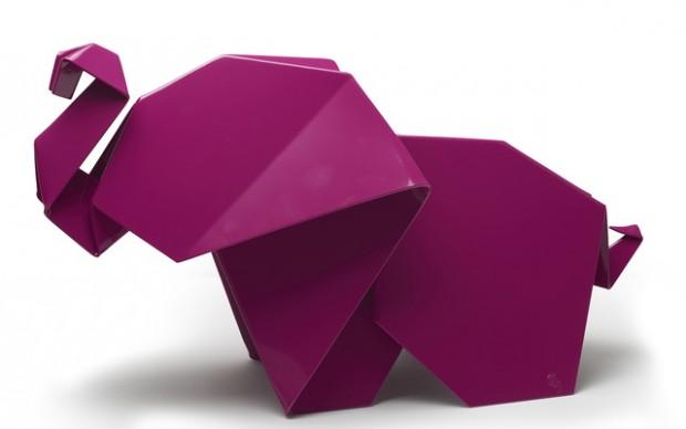 Gerardo Hacer sculture-origami