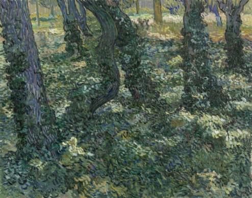 Vincent van Gogh (1853 - 1890), Undergrowth, 1889,  Van Gogh Museum, Amsterdam  (Vincent van Gogh Stichting/ Foundation)