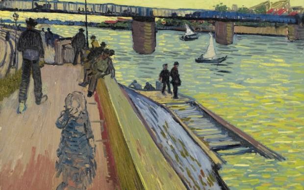 Vincent van Gogh (1853 - 1890), The Bridge at Trinquetaille, 1888, Privécollectie