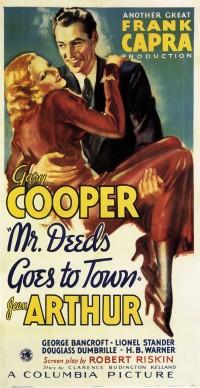 È arrivata la felicità (Mr. Deeds Goes to Town), regia di Frank Capra, 1936