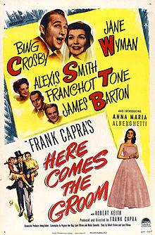 È arrivato lo sposo (Here Comes the Groom), regia di Frank Capra, 1951
