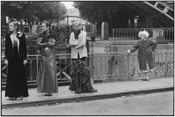 Elliott Erwitt, Canal Saint-Martin a Parigi - Francia, 1978
