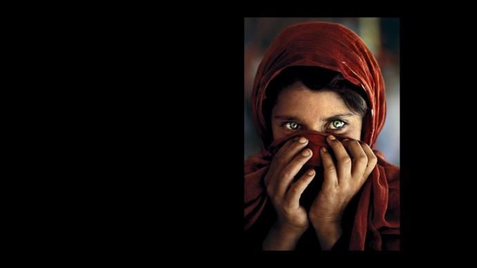 Una fotografia scattata da Steve McCurry
