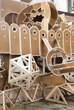 Daniel González, Pop-Up Building Milan Marsèlleria, Milano 2015 installation view Ph. Carola Merello